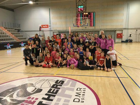 Entraînement et match à Liège Panthers