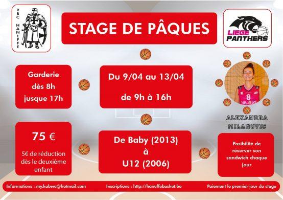Stage Petits Panneaux Pâques 2018